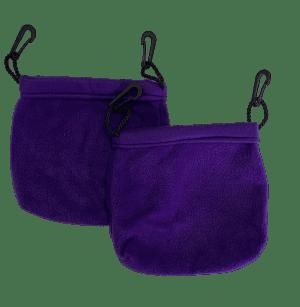 2 sleeping pouches
