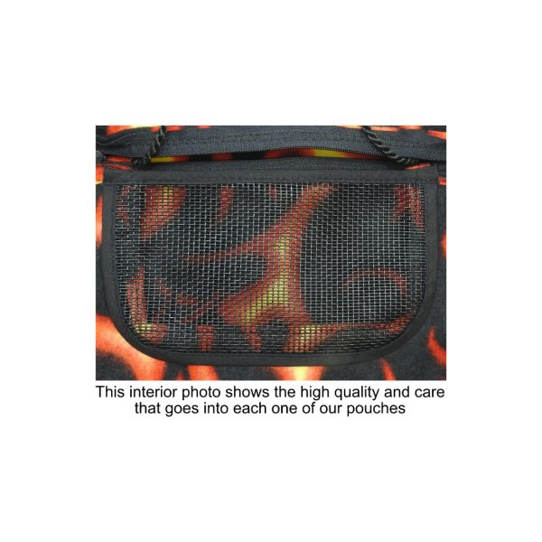 Flames Pouch Inside