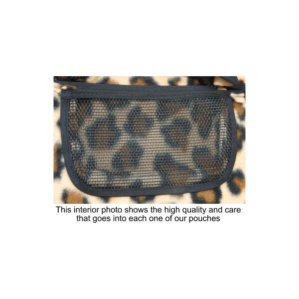 Leopard Pouch Inside