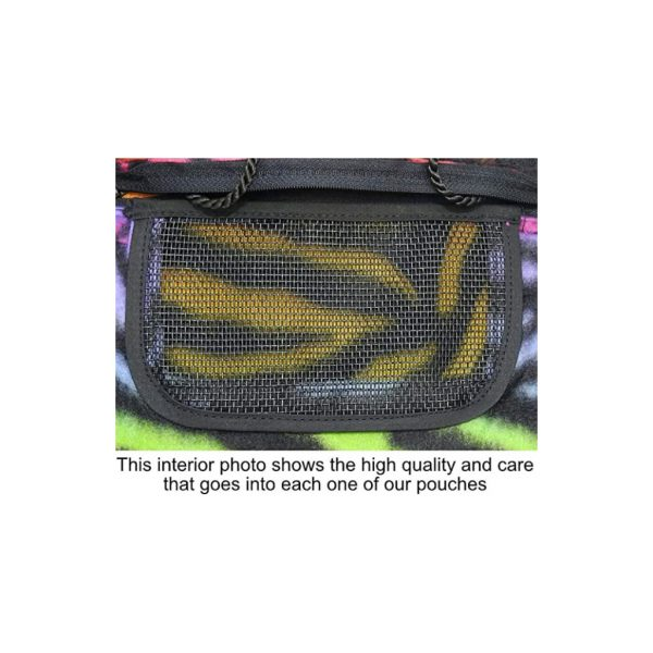 Rainbow Tiger Pouch Inside