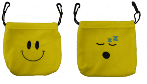 Smiley and Snoozey Sleeping Pouches