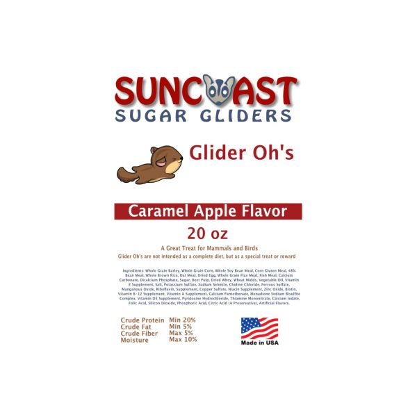 Glider Oh's Carmel Apple Label