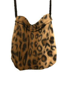 leopard print sleeper hanging
