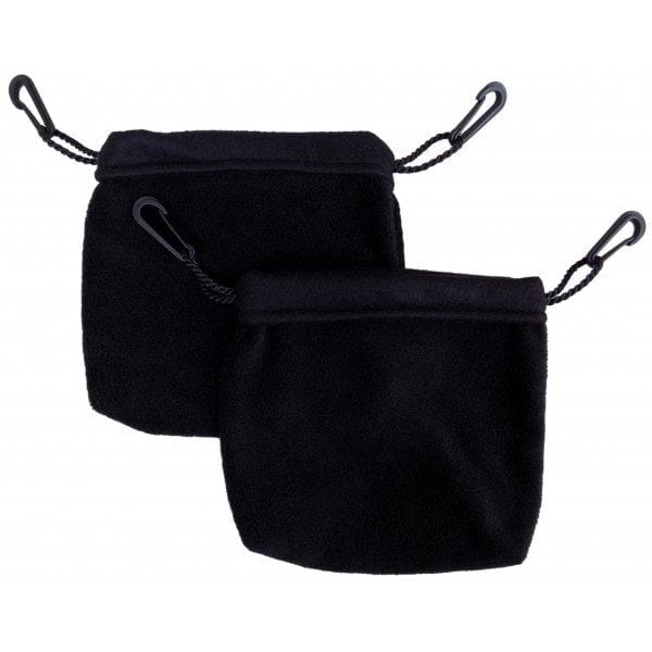 Two Sleeping Pouches: Black