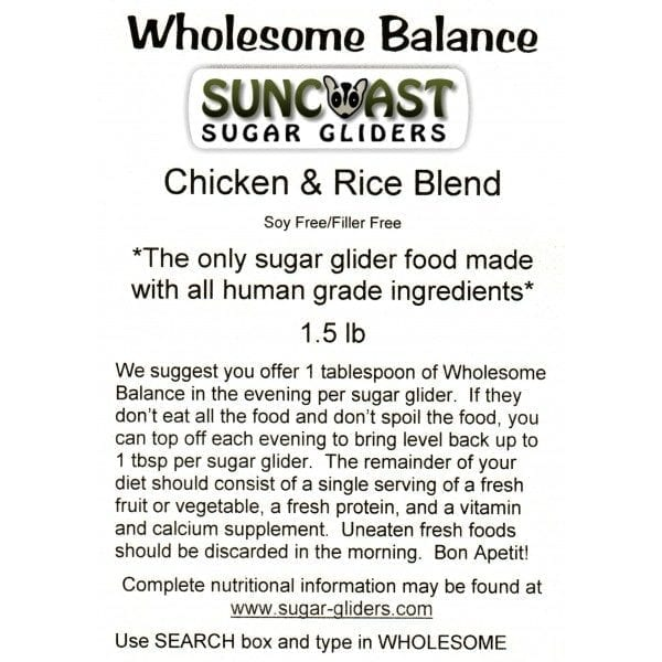 1.5 LB Bag Wholesome Balance™ Chicken & Brown Rice Blend