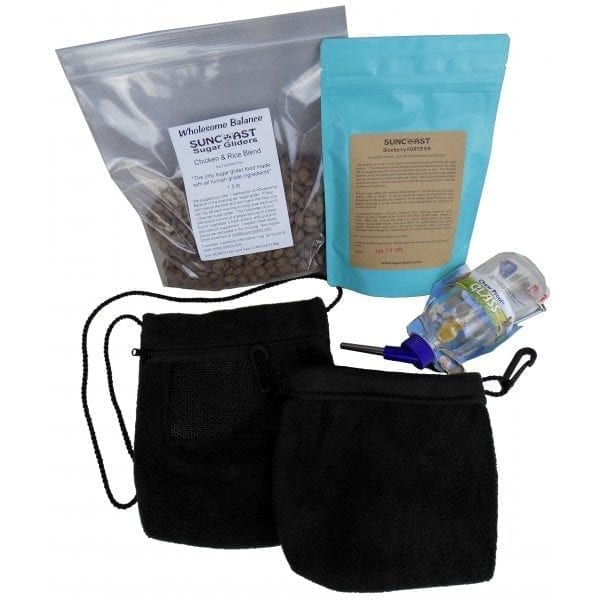 Sturdy Sugar Glider Cage Plus Supplies Pack