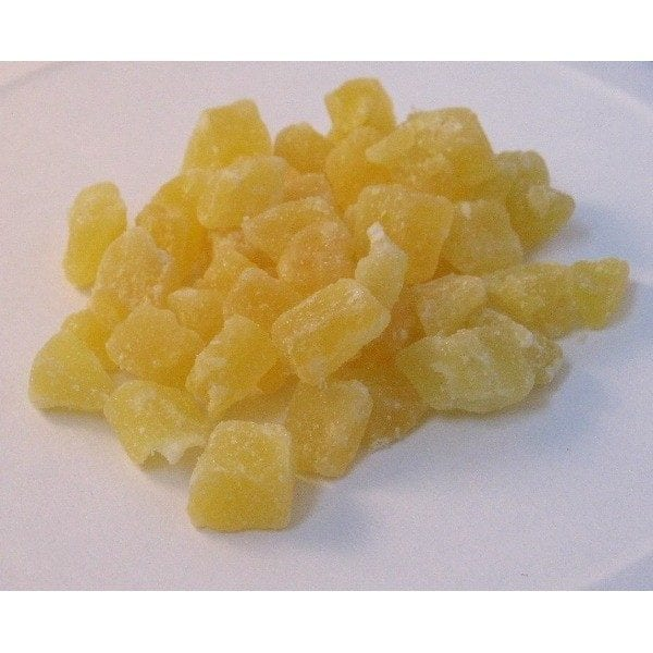 Natural Diced Pineapple Treats 8 oz