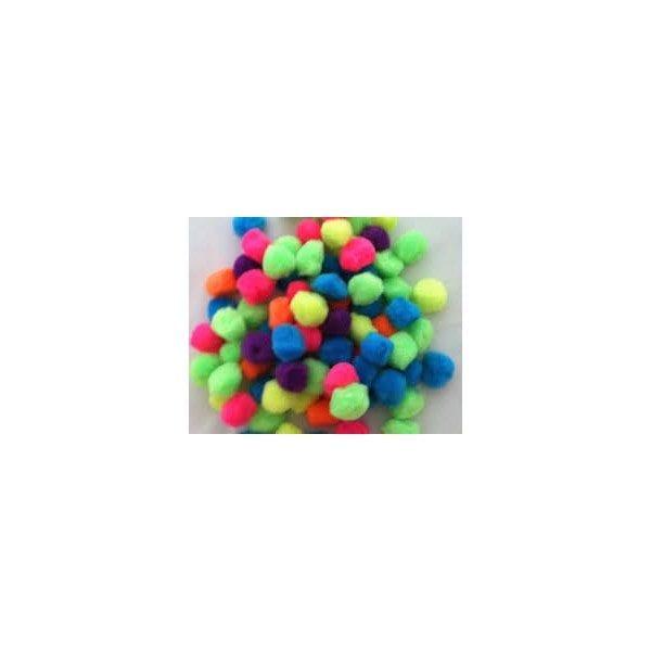 Pom Poms - 1 inch size - 25 count