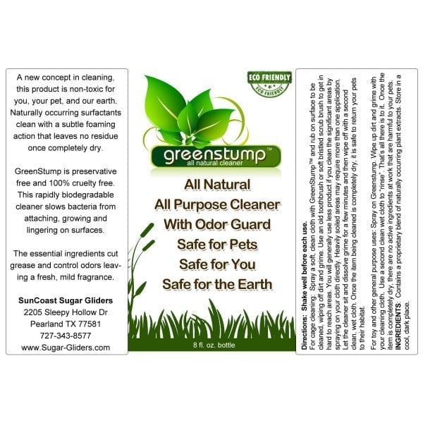 GreenStump All Purpose Cleaner 8oz.