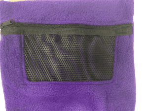purple bonding pouch