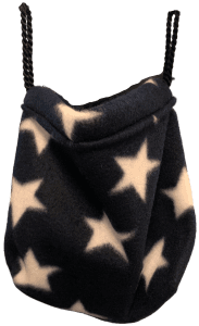 sleeping pouch hanging