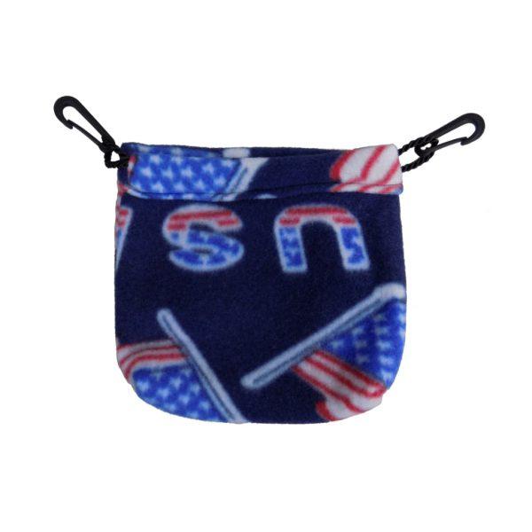 Sugar Glider Sleeping Pouch U.S.A Flag